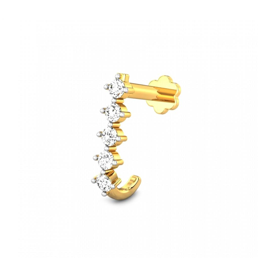Lixue Diamond Nose Ring Online Jewellery Shopping India Yellow Gold 18k Candere By Kalyan Jewellers