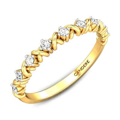 XOXO Eternity Diamond Ring