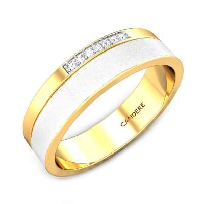 Otis Diamond Wedding Band For Him