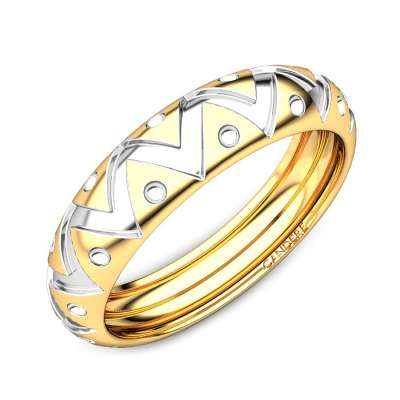 Rijul Gold Band For Him